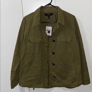 Olive/khaki green coat